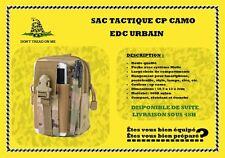 Sac CP CAMO EDC urbain tactique avec fixation Molle imperméable Every Day Carry
