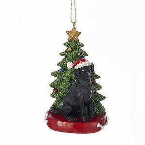 Labrador Retriever w/Tree Ornament