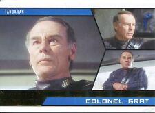 Star Trek Aliens Gold Parallel Base Card # 69 Colonel Grat