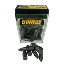 DEWALT DT71522-QZ PH2 X 25MM SCREWDRIVER BITS PACK OF 25 IN FLIP-TOP CASE