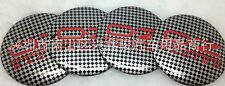 4X Fit OZ O.Z Racing carbon fiber WHEEL CAPs Alloy  EMBLEM  Stickers 56mm 3D NEW