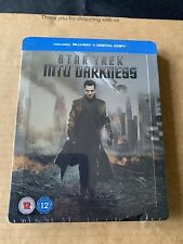 Star Trek Into Darkness (2013) UK Blu-ray Steelbook NEW & SEALED J.J. Abrams