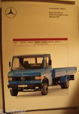 ✪altes original Prospekt Mercedes-Benz Pritschenwagen & Fahrgestell 709D, 711D