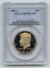 1985 S 50C Kennedy Half Dollar Proof PCGS PR69DCAM