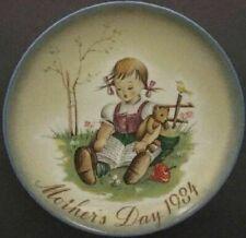Schmid Hummel * 1984 Mother's Day Plate - A Joy To Share