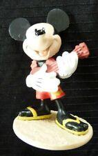 PVC Toy Figurine Aloha Mickey Mouse playing Ukulele !