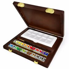 Royal Talens - Rembrandt 'Traditional' Watercolour Art Set in Wooden Chest