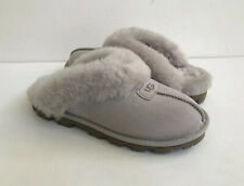 UGG COQUETTE FEATHER SHEARLING MOCASSIN SLIPPERS US 9 / EU 40 / UK 7
