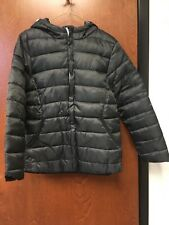 Boy's Black Hooded Jacket Coat Size: Youth XL NWOT