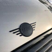 Genuine MINI F55 F56 F57 Gloss Black Front Badge Emblem Plaque 51142465241