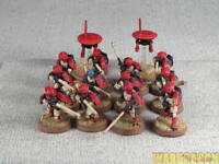 25mm Warhammer 40K WDS painted Tau Empire Fire Warrior Team r29