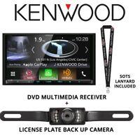 Kenwood Excelon DNX994S Navigation System + License Plate Back Up Camera
