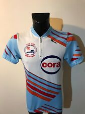 Maillot Cycliste Ancien Cora Velo Club Montbeliard Taille XL