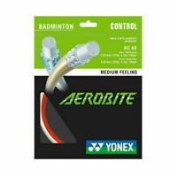 Yonex Aerobite Badminton String Set (orange/white)