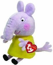 TY Peppa Pig Beanie Plush - EMILY ELEPHANT - Brand New
