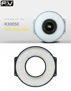 F&V R-300 SE 5600K Daylight LED Ring CRI95 2205lux For Shooting Fast Ship Japan