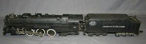 Vintage S Gauge American Flyer 322 4-6-4 Locomotive & Tender