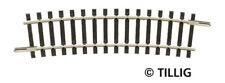TILLIG 83110 - Spur TT - Gebogenes Gleis R 310 mm/15° - NEU