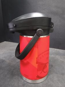 Used Stanley 2.2L ErgoServ Steel-Lined Air Pot Red O6