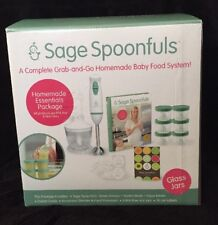 Sage Spoonfuls Glass Homemade Essentials Package - Nib