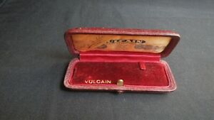 VULCAIN , VINTAGE & NICE  BOX WATCHES ,PURPLE COLOR ,ONLY BOX .