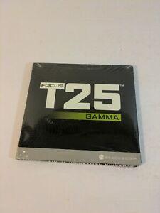 Brand New SEALED Beachbody Focus T25 Gamma DVD Set Sealed