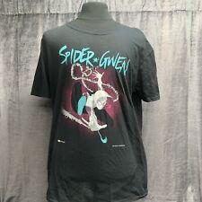 Spider Gwen Black T-shirt Size XL