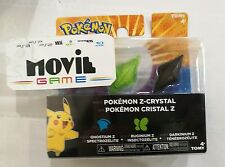 POKEMON Z-RING CRISTALLI Z CRYSTAL PACK COMPATIBILE CON NINTENDO 3DS/2DS - TOMY