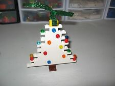LEGO    CHRISTMAS TREE DECORATION WHITE CHRISTMAS TREE   RARE!