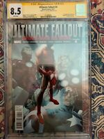 Ultimate Fallout #4 1st Miles Morales CGC 8.5 SS Clayton Crain