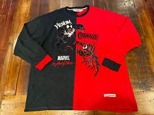 Vintage Johnny Blaze Marvel Venom Carnage Shirt Colorblock Patches Size 2XL