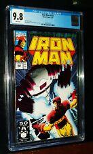 IRON MAN #266 1991 Marvel Comics CGC 9.8 NM/MT White Pages