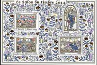 BLOC   NEUF SALON DU TIMBRE PARIS 2014  LUXE