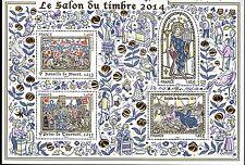 BLOC   NEUF SALON DU TIMBRE PARIS 2014  ...