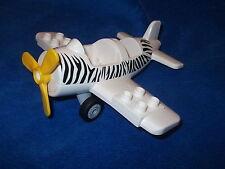 Lego Duplo Ville Zoo 1 X Flugzeug Propellerflugzeug Safari aus 6156 Schwarz toll