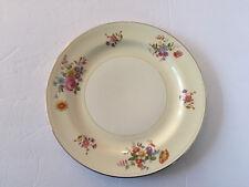 "Homer Laughlin China Eggshell Nautilus N1581 Floral - 10"" DINNER PLATE"