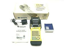 Brady 33941 Id Pro Wire Marker Printer With One Roll 32415 Labels