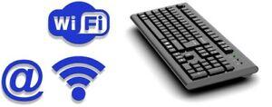 Forensic Keylogger Keyboard WiFi Pro - Keyboard Integrated Hardware Keylogger