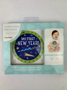 Pearhead My First Holiday Baby Belly Stickers Set Of 14 Pieces