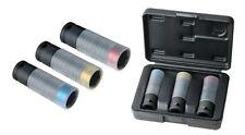 """KS-Tools 515.0990 SlimPOWER Impact Conjunto Tuerca Del Tapón,3 piezas 1/2"""" 17"""