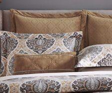 Inspired By Kravet Jaipur 1 Euro Pillow Sham In Gold Velvety Gold Flange