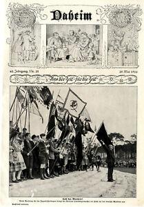 """Werbetag für die deutschen Jugendherbergen in Berlin """"Hoch das Wandern"""" von 1926"""
