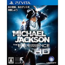 SONY PS VITA Michael Jackson THE EXPERIENCE Japan Import Japanese PSV Video Game