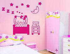 Wall Stickers Camera bimba hello kitty buona notte new!