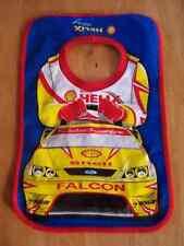 2 X Ford Falcon V8 SuperCar Motor Racing Baby Bib - Dick Johnson Racing