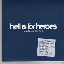 (AO401) Hell Is For Heroes, You Drove Me To It - DJ CD