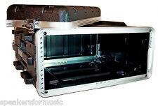 """4U Space Rack Case, 16.5"""" Deep Shell, Light Weight Amp Effects ABS w rack screws"""