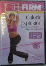 The Firm Calorie Explosion DVD NEW SEALED WORKOUT FITNESS 4 Workouts
