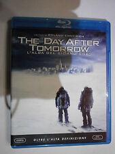 THE DAY AFTER TOMORROW L'ALBA DEL GIORNO DOPO FILM IN BLU-RAY NUOVO DA NEGOZIO!!
