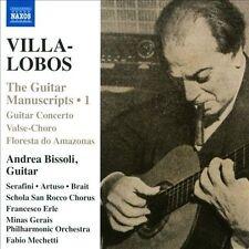 Villa-Lobos: Works for guitar, Vol. 1, New Music